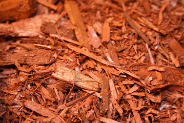Image of a pile of mulch