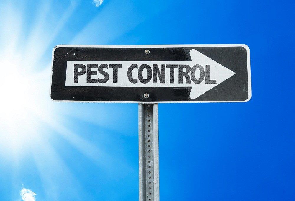 Pest Control Sign
