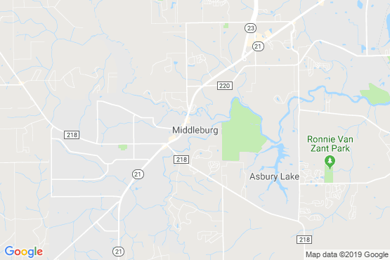 Pest Control In Middleburg, FL, Service Map